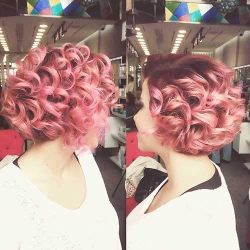 Short Curly Hairstyle - 30