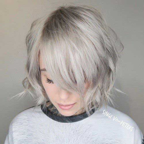 Short Hairstyles for Round Face-8