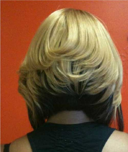 Bob Haircuts Back View for Black Women
