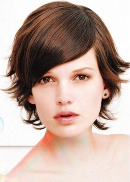 Alluring Flip Out Bob Cut