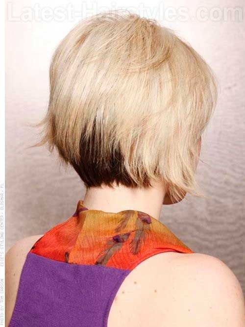 Back View of Bob Hairstyles-13