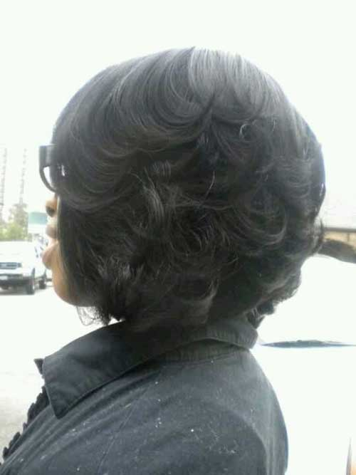 Black Girls Thick Bob Hairstyles