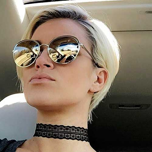 Short Blonde Hair 2018 - 36