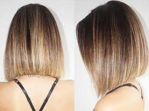 Ombre Hair Color For Short Hair-8
