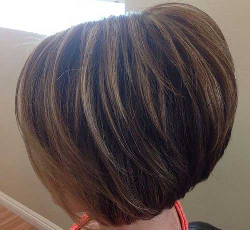 Short Layered Haircuts with Highlights Colors