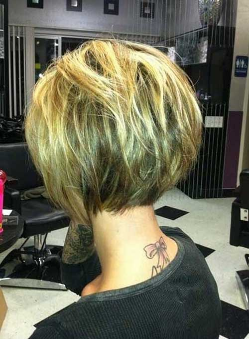 Best Short Bob Hair Back View