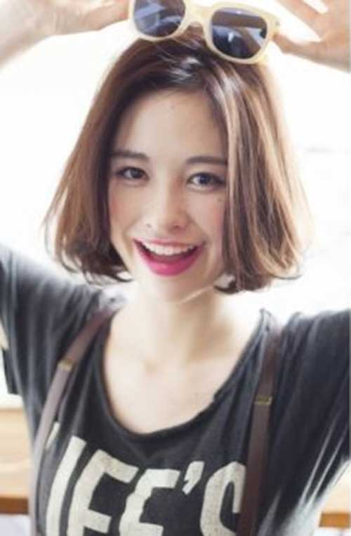 Chic Straight Bob for Korean Women