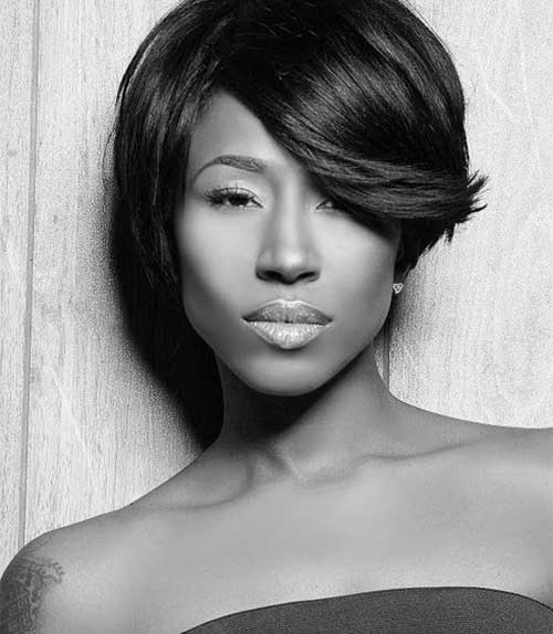 Casual Short Bob Hairstyles for Black Women