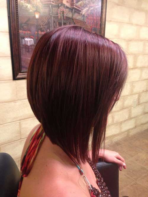 Straight Angled Bob Cut Ideas Pictures