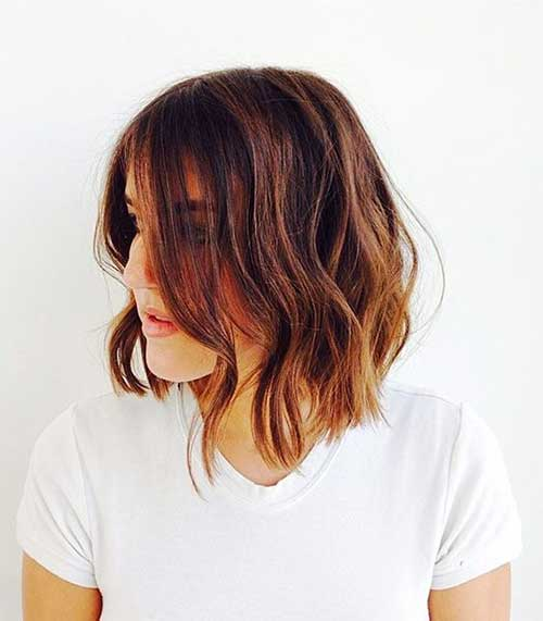 Beautiful Wavy Bob Styles