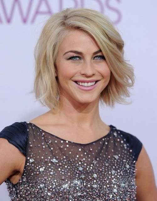 Julianne Hough Bob Haircut 2018