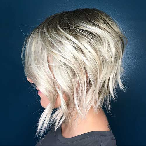 Short Layered Haircuts 2018 - 13