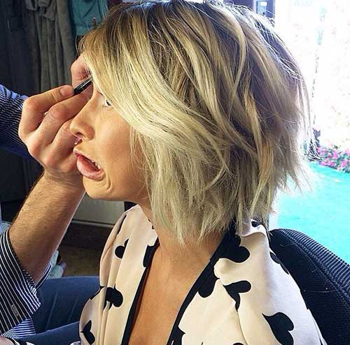 Wavy Bob with Choppy Cut for 2018