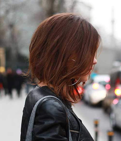 Trendy Angled Bob Hairstyles Pictures