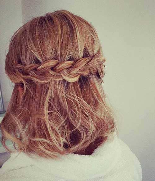 Cute Hairstyles for Short Hair-7