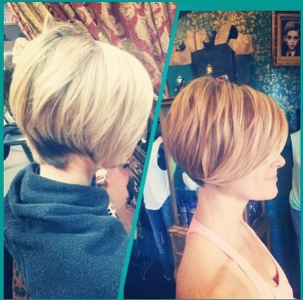 Layered Short Haircut - Women Hairstyles for 2018
