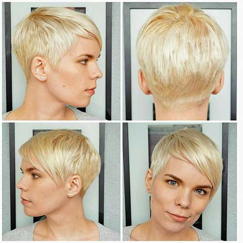 Short Blonde Hair 2018 - 28