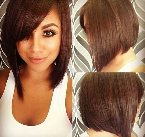 Cute Brown Bob Cuts