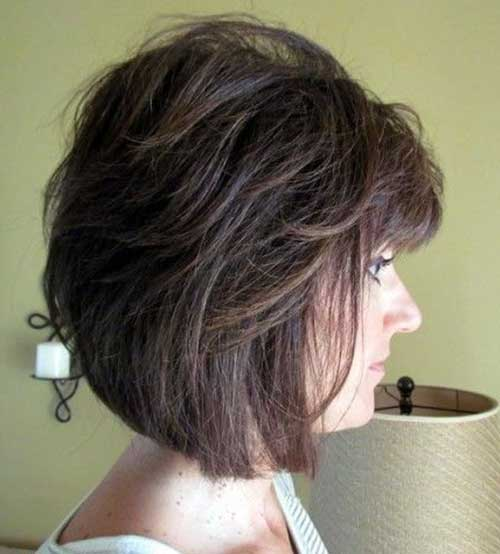 Short Hair Cuts For Women Over 40-9