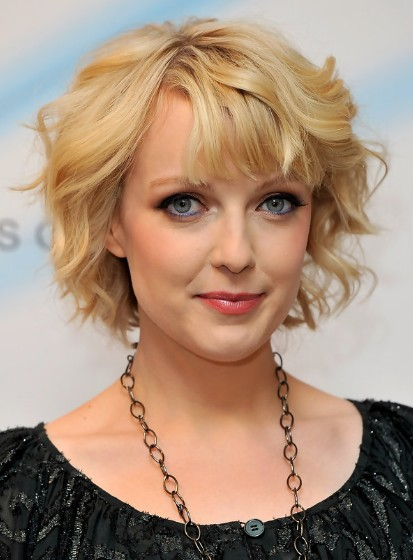 Blonde Short Waves Hair Styles 2013