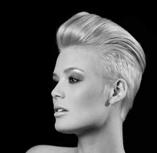 Trendy Hairstyles for Short Hair-12