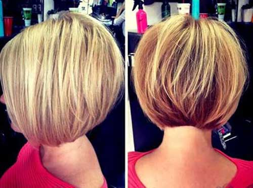 Short Bobbed Blonde Hairstyles 2018-2018