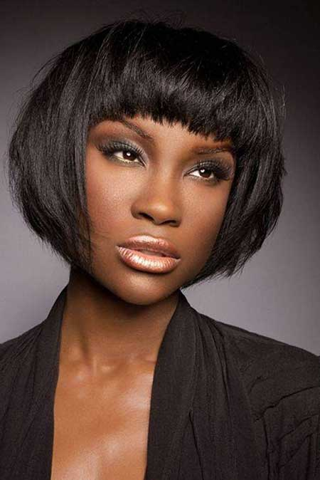 Nice Short Hairstyles for Black Women