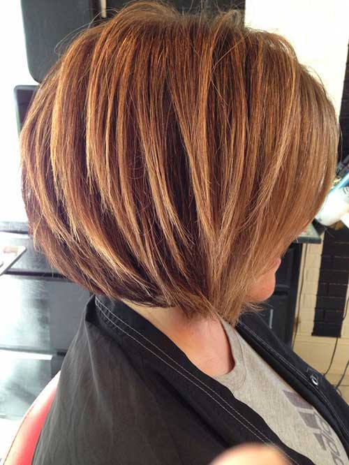 Hairstyles Stacked Bobs Cuts Pictures