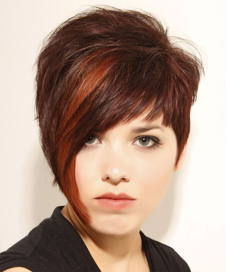 Brown Hair Color Images Short Hair
