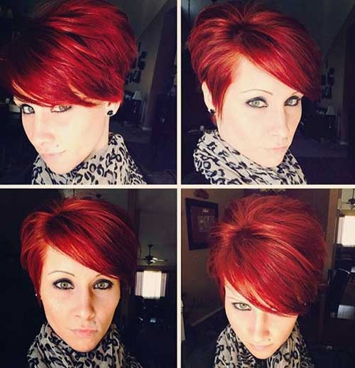 Best Long Pixie Red Hair