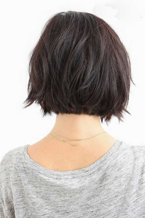 Dark Short Hairstyles for 2018