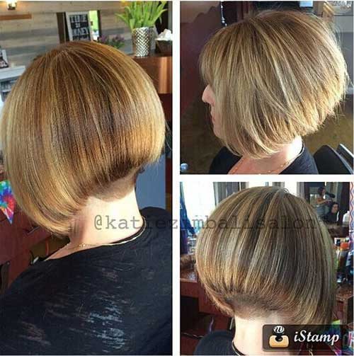 New Graduated Bob Hairstyle Ideas