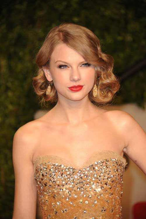 Curly Bob Hairstyles for Weddings
