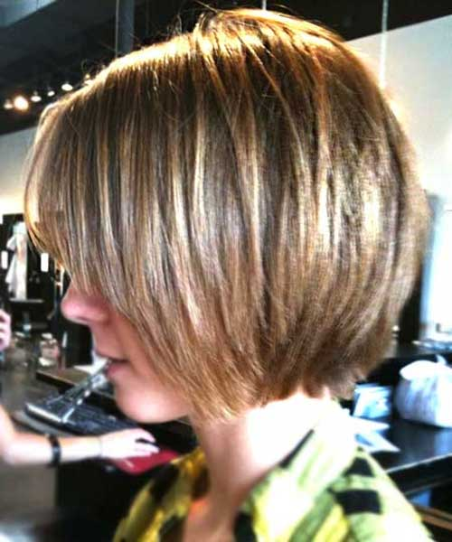 New Bob Haircut with Thin Layers 2018