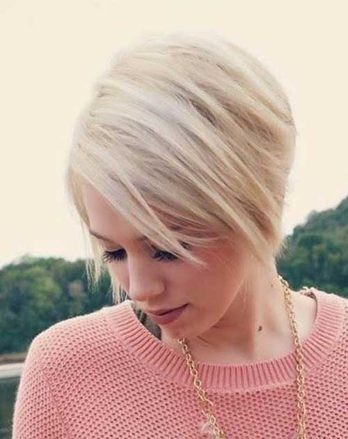 Girl Blonde Bob Haircut