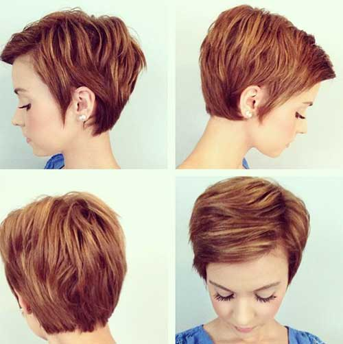 Best Short Layered Pixie Hairstyles