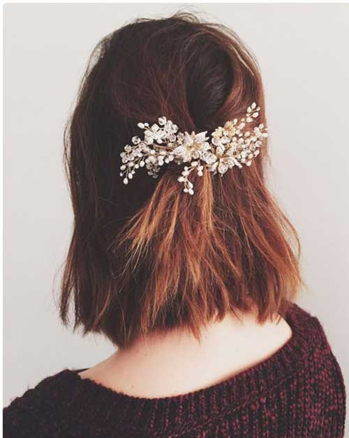 Cute And Easy Hairstyles For Short Hair-29