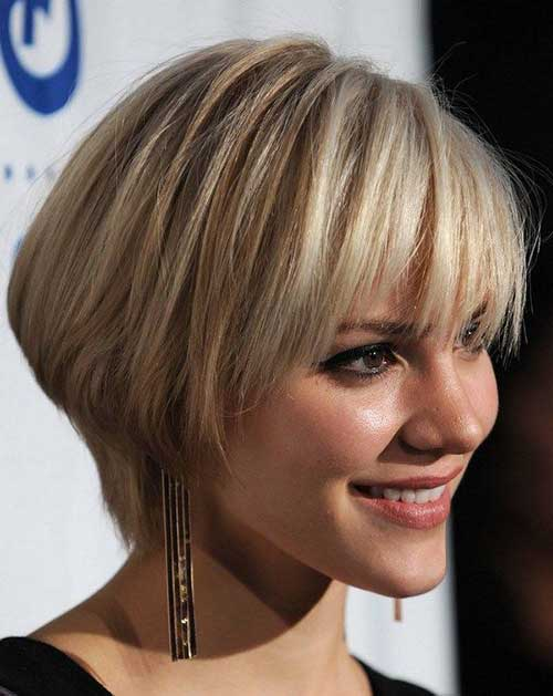 Inverted Bob Haircuts for Thick Layered Hair Styles