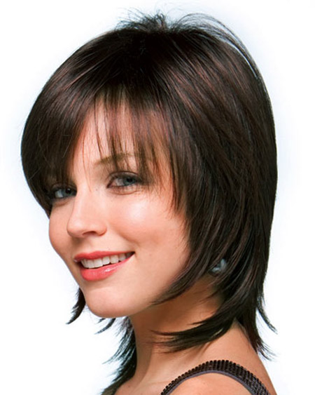 Alluring Short Hairstyle with Long Back Hair