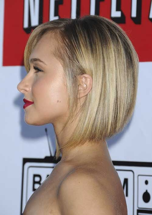 Hayden Panettiere Bob Haircuts Side View
