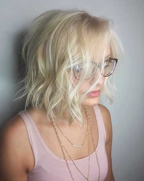 Short Messy Hairstyle - 22