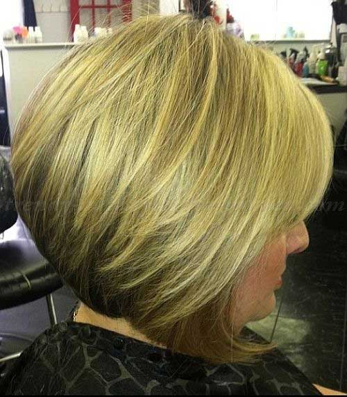 Bob Hairstyles for Older Ladies-15