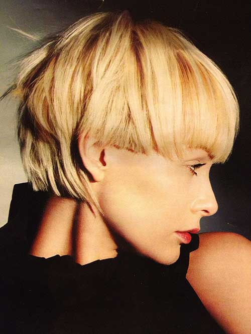 Cute Short Hairstyles-9