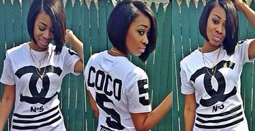 Short Bob Hairstyles for Black Women-13
