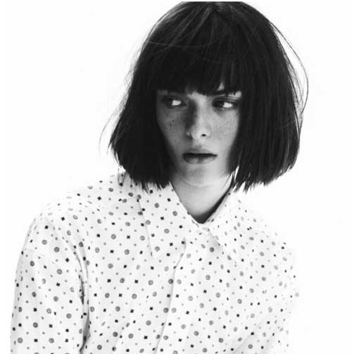 Cool Chopy Blunt Bob Haircuts 2018
