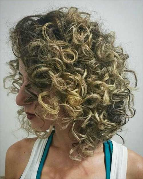 Short Natural Curly Hairstyles 2018 - 19