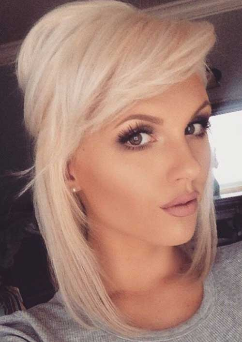Cute Hairstyles for Short Hair-27
