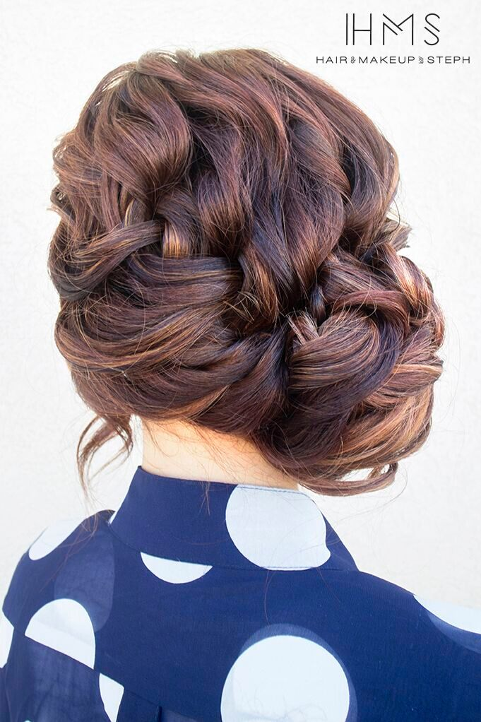 French Side Braid Updo: Schicke Alltagsfrisuren