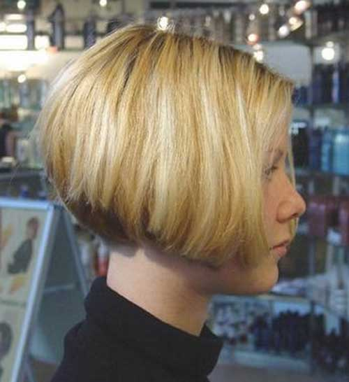 Short Layered Thick Bob Styles 2018-2018