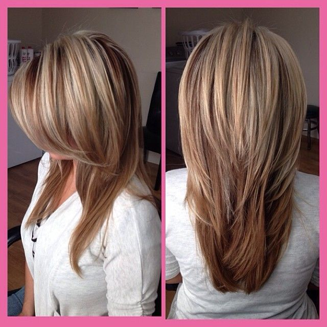 Ombre Long Hairstyles with Layers